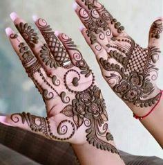 Modern Mehndi Designs, Mehndi Design Photos, Latest Mehndi Designs, Mehndi Images, Mehandi Designs, Henna Mehndi, Henna Art, Mehendi, Beautiful Mehndi