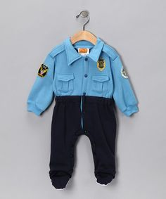 Police Playsuit - Infant costume by Let's Play Pretend Boutique on #zulily today!