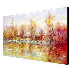 óleo pintura abstrata telas pintadas à mão 1305-ab0578 de 2016 por R$213.32