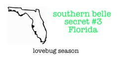 Well I got to know them personally when I lived near the Alabama/Florida state line