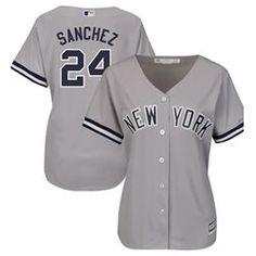 0c32d993c72 Women's Majestic Gary Sanchez Gray New York Yankees Cool Base Player Jersey,  Size: XXL