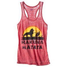 I want !! Hakuna Matata Shirt!!