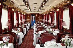 Paris: jante no mítico trem Orient Express