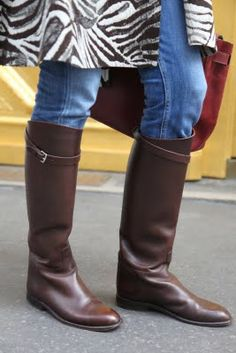Hermès Jumping Leather Boots ORj1mJ8Y