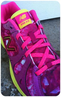 Get New Balance running shoes for her in this standout colorway!