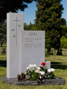 Cemetery Monuments, Cemetery Art, Funeral, Tombstone Designs, Cemetery Decorations, Stone Statues, Stone Carving, Leaf Design, Granite