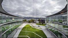 スワロフスキー本社(スイス・チューリヒ湖)(C)ANDREAS KELLER/INGENHOVEN ARCHITECTS