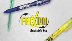 #Back2School Event: Pilot Pen FriXion Package   Ends 8/28