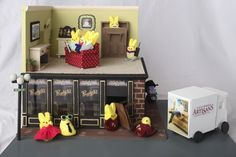 A Peeps Eye View into an Apeepment on M St. Created by Julianne Yurek, 25, of Arlington, Va.; Katie Grech, 27, of Bristow, Va.; and Lorelei Hillgren, 20, of Fairfax, Va. This Georgetown scene shows a Peep family in an apartment over a Peep-ified Clyde's restaurant.