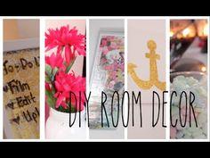 5 DIY Room Decor Ideas! (+playlist)