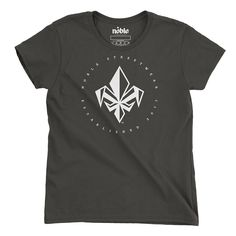 Womens FDL Short Sleeve T-Shirt - Smoke-*Womens T-Shirt-S-Noble Streetwear™