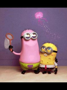 Sponge Minion Roundpants lol