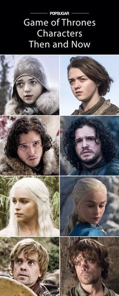 Game of Thrones Characters..