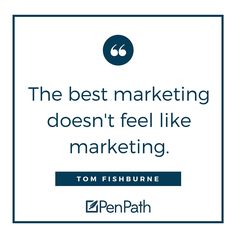 People don't want to be sold to, they want to learn! #ContentMarketing