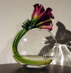 Simpel .... maar heel mooi!  ... ook met tulpen....
