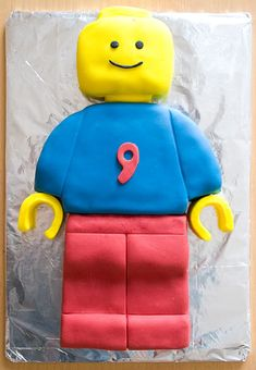 Lego Man Cake. My kids would knight me if I made them this cake.