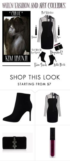 Inspiration: Chloe By Kim Hyunji by latoyacl on Polyvore featuring RED Valentino and Dsquared2