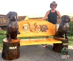 Chainsaw Carving by Paul is a professional chainsaw carver in the York PA area.