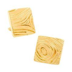 Men's Cufflinks Inc Woodgrain Cufflinks