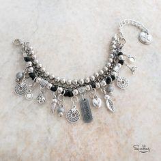 Pulsera Inspire Beaded Jewelry, Jewelry Bracelets, Handmade Jewelry, Hand Accessories, Bracelet Knots, Jewelry Making Tutorials, Metal Necklaces, Jewelry Crafts, Jewelery
