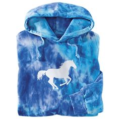 Wild One Tie Dye Hoodie -  Back In The Saddle - definitely could use another comfy pullover hoodie!