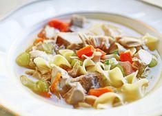 Mom's Turkey Soup Recipe | SimplyRecipes.com