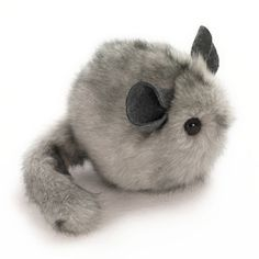 OMG I need this in my arms right now! <3 <3 Handmade Gifts | Independent Design | Vintage Goods Super Fluffy Chinchilla Plush! - New Arrivals