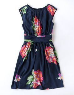 @BodenClothing Selina Dress Blue Party Floral