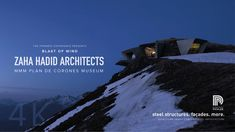 My last #film. MMM Corones, the final of the six mountaintop #museums built by Reinhold Messner and situated on the summit plateau of Kronplatz, came out of #Zaha #Hadid Architects' ingenious minds. Glazed #façades and steel structures compose a #fluid #space that offers spectacular views of the #Dolomites, where the bravest climbers' accomplished their feats. Free of right angles and rigid #shapes, the #building appears candid and majestic, as if it was waiting to be freed from the #rock.
