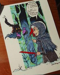 Sketch for the Dark side! #paint #color  #disegno #desenho #sketch  #illustration  #ig_artistry #artwork  #art #artist  #illustrator #copic #watercolor