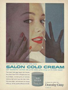 salon cold cream 1958