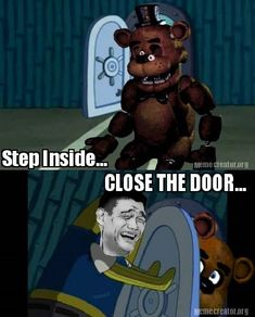 Five Nights At Freddy's Reaction by Randy-Ghoti.deviantart.com on @deviantART
