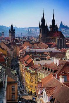 Celetna Street, Prague, Czech Republic