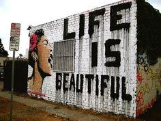 Collection of great graffiti art, life is beautiful when art is all around us! See more graffiti art, street art, urban art from graffiti artist Mr Pilgrim. Graffiti Kunst, Graffiti Artwork, Graffiti Wallpaper, Dope Tattoos, Best Graffiti, Street Art Graffiti, Urban Graffiti, Beautiful Streets, Life Is Beautiful