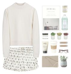 """""""the quiet hum as this city falls asleep"""" by hiddlescat ❤ liked on Polyvore featuring Pierre Balmain, Acne Studios, Williams-Sonoma, Fig+Yarrow, Threshold, Brooklyn Candle Studio, philosophy, Kikkerland, DwellStudio and Torre & Tagus"""
