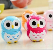 1PCS Owl Mechanical 55 Minutes Kitchen Timer 4 Colors Count Down Up Timer Alarm Counter Reminder Freeshipping(China (Mainland))