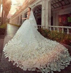 NEW White/Ivory Wedding dress Bridal Gown Custom Size 4 6 8 10 12 14 16 18+++ #Handmade