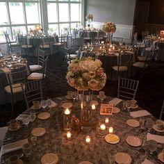 Wedding Reception Inspiration #manchestercountryclub #wedding #reception