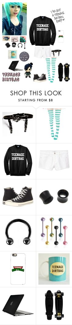 """Teenage Dirtbag"" by dreadful-glassheart ❤ liked on Polyvore featuring MANGO, Converse, NOVICA, Urbiana, Casetify and Speck"