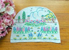 Check out this item in my Etsy shop https://www.etsy.com/uk/listing/495528398/heavily-hand-embroidered-vintage-cottage