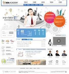 24 best design resources images on pinterest design web interface korean university education websites civil service training information psd website template maxwellsz