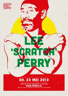 #leescratchperry artwork #paardvantroje #reggae