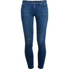 PAIGE DENIM Verdugo Ultra Skinny Jeans ($300) ❤ liked on Polyvore featuring jeans, pants, bottoms, calças, stretchy skinny jeans, mid rise skinny jeans, blue jeans, mid-rise jeans and stretch skinny jeans