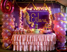 rapunzel, tangled Birthday Party Ideas | Photo 1 of 7 | Catch My Party