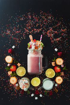 Milkshake Vignette by Dina (Food Photography) on 500px