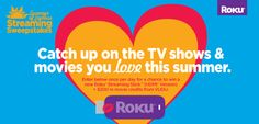 8/1/14 fb Enter for a chance to win a #RokuStick from   @RokuPlayer, $200 in @vudufans movie credits  more.   http://woobox.com/gnyd84/8k40f3