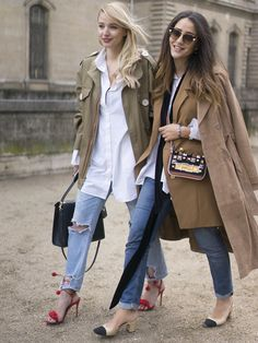 Fall 2016 Paris Fashion Week Street Style Day 4 - March 2016