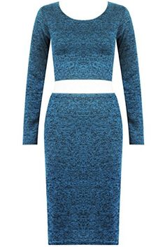The Home of Fashion Womens Cyan Soft Knitted Two Piece Midi Crop Top Skirt Set (SM (8-10)) The Home of Fashion http://www.amazon.co.uk/dp/B00OOQZP4W/ref=cm_sw_r_pi_dp_4Qorub1TVGJ0C