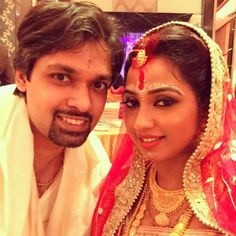 Shreya Ghoshal Marriage Pics