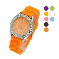 Orologio alla moda molti colori unisex a solo 2.45 €  #orologio #orologidonna #unisex